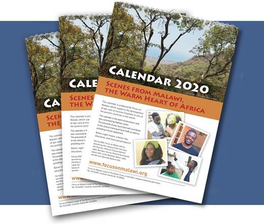 Malawi calendars 2020