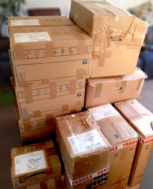 parcels for Malawi eye clinics