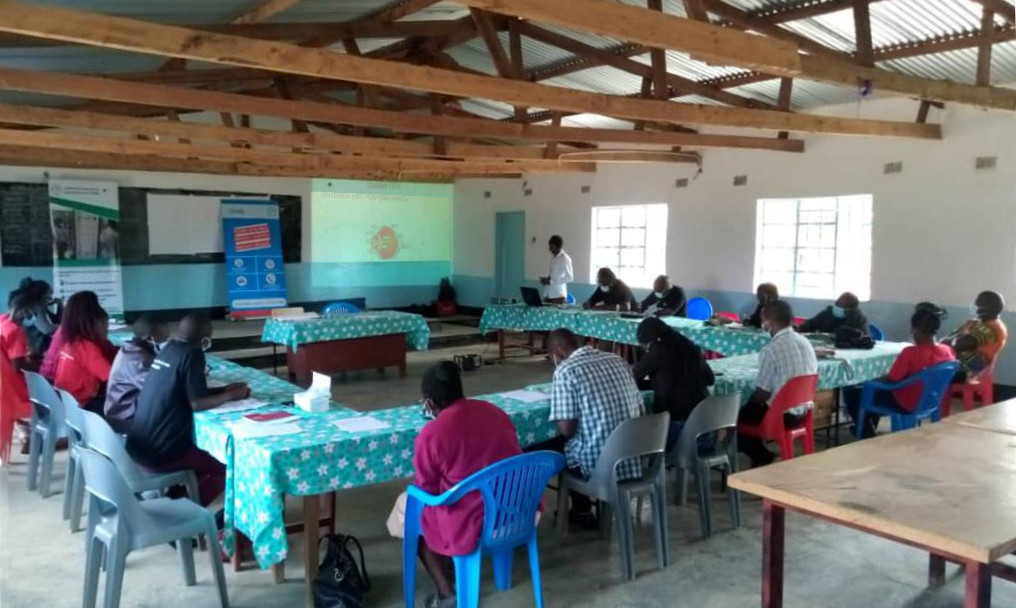 Training primary healthcare and patient assistant staff to screen for eye health at David Gordon Memorial Hospital, Livingstonia
